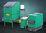 06653059 Automatyczny zestaw do spalania biomasy 1m3 400V 50kW, głowica: ceramiczna, bez systemu usuwania popiołu (paliwo: trociny, wióry, zrębki)