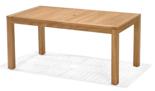 99855618 Stół prostokątny z drewna tekowego Rinjani 160x90