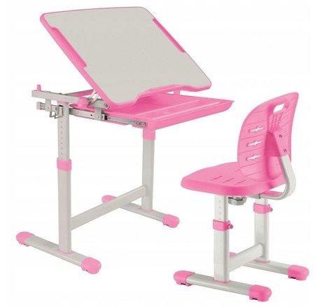 Biurkosa Biurko i krzesełko dziecięce PINK 11976319