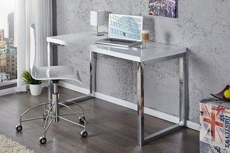 DOSTAWA GRATIS! 11260669 Nowoczesne biurko White Desk.120cm (kolor: biały)