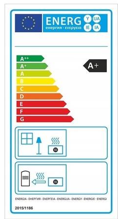 DOSTAWA GRATIS! 99672764 Piec wolnostojący 8kW (kolor: biały) - spełnia anty-smogowy EkoProjekt