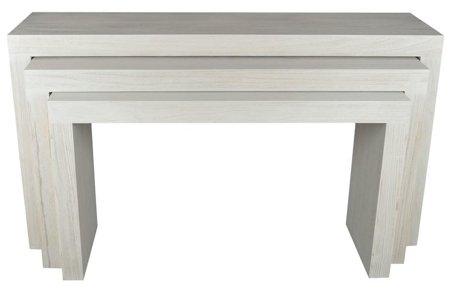Komplet 3 stołów jasnych 52969127