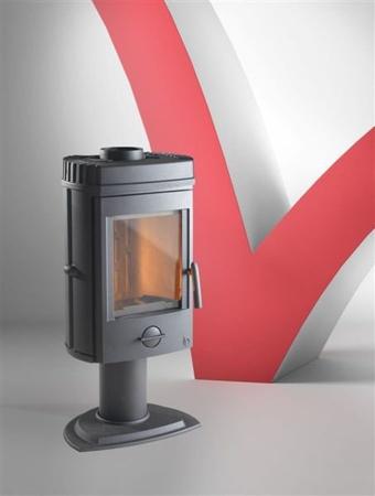 Piec wolnostojący Invicta 8kW Mesnil (górna średnica wylotu spalin: 150mm, kolor: antracyt) - spełnia anty-smogowy EkoProjekt 86854939