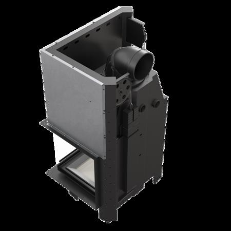 Wkład kominkowy 13kW MBZ 13 BS Gilotyna (prawa boczna szyba bez szprosa, drzwi podnoszone) - spełnia anty-smogowy EkoProjekt 30053246