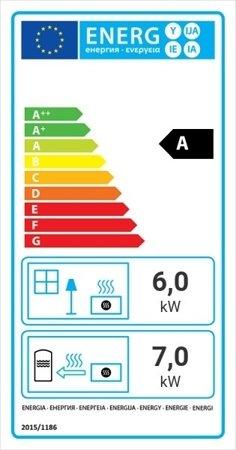 Wkład kominkowy 13kW MBZ PW BS z płaszczem wodnym, wężownicą (lewa boczna szyba bez szprosa) - spełnia anty-smogowy EkoProjekt 30065764