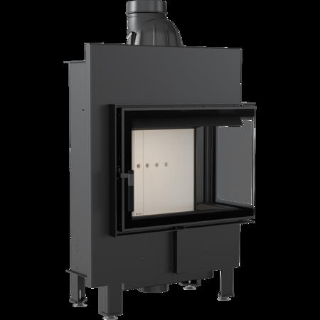 Wkład kominkowy 8kW Lucy Slim BS (prawa boczna szyba bez szprosa) - spełnia anty-smogowy EkoProjekt 30072665